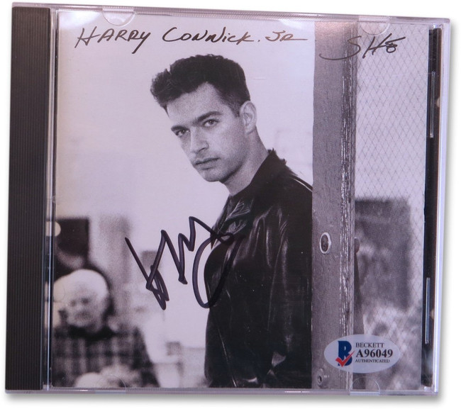 Harry Connick Jr. Signed Autographed CD Cover She BAS A96049