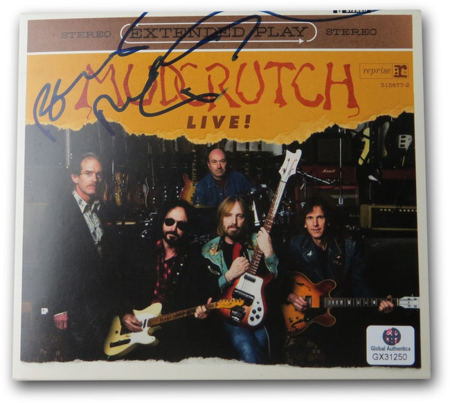 Benmont Tench Signed Autographed CD Booklet Mudcrutch Live! GX21250