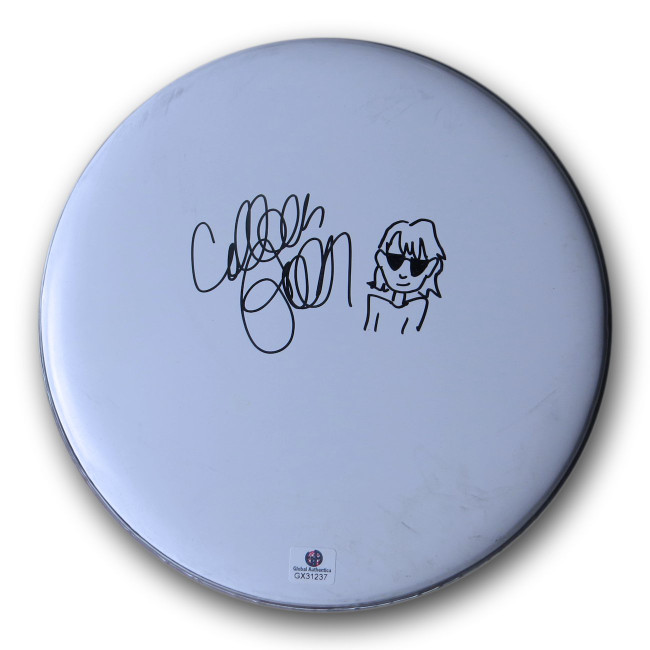 "Colleen Green Signed Autographed 8"" Drumhead Indie Pop Star GX31237"