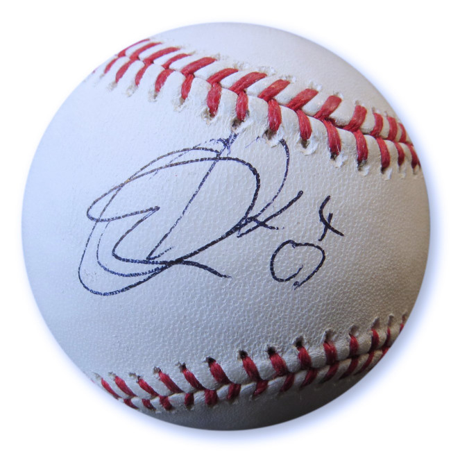 Cynthia Erivo Signed Autographed Baseball Singer Songwriter JSA GG68821
