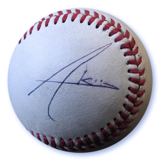 Akon Signed Autographed Baseball Singer Songwriter JSA GG68823
