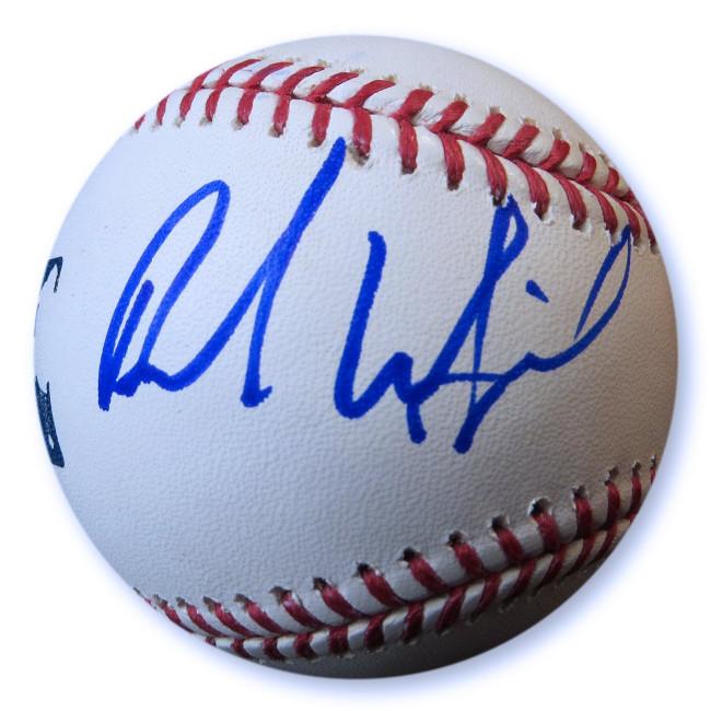Brad Whitford Signed Autographed Baseball Aerosmith Guitarist JSA GG68765