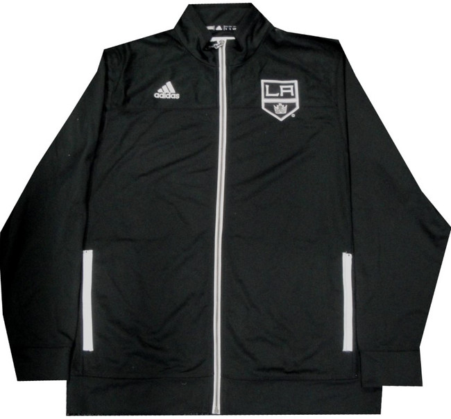 Los Angeles Kings Unsigned Adidas Jacket Purchased at Staples Center Size Large