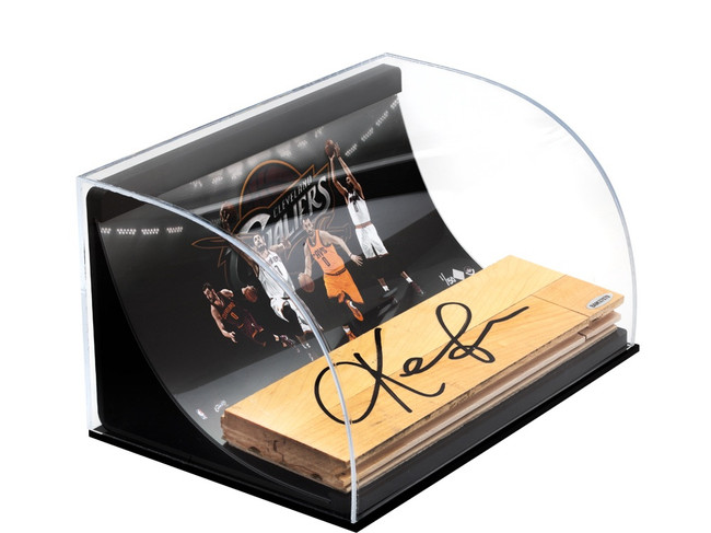 Kevin Love Signed Autographed 3X10 Floor Piece Acrylic Display Cavaliers UDA