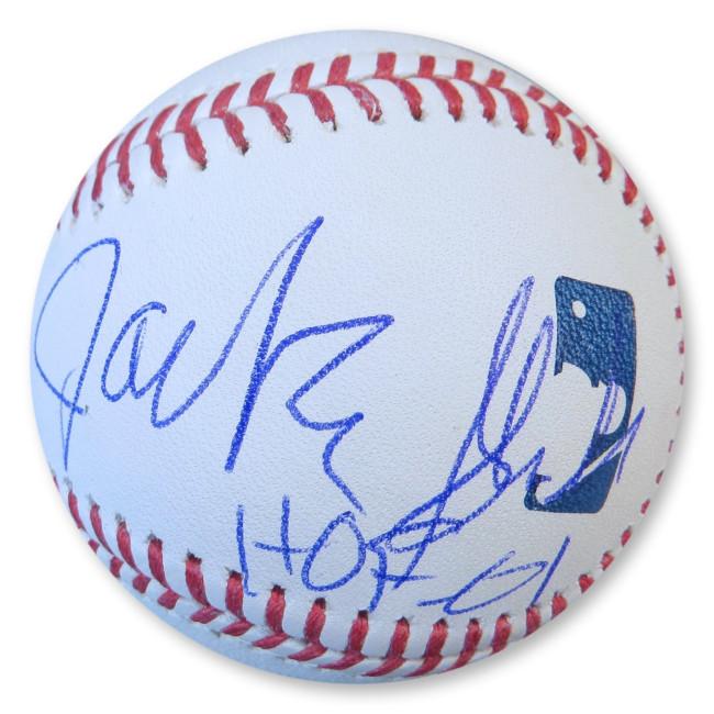 Jackie Slater Signed Autographed MLB Baseball Los Angeles Rams HOF 01 GV907440