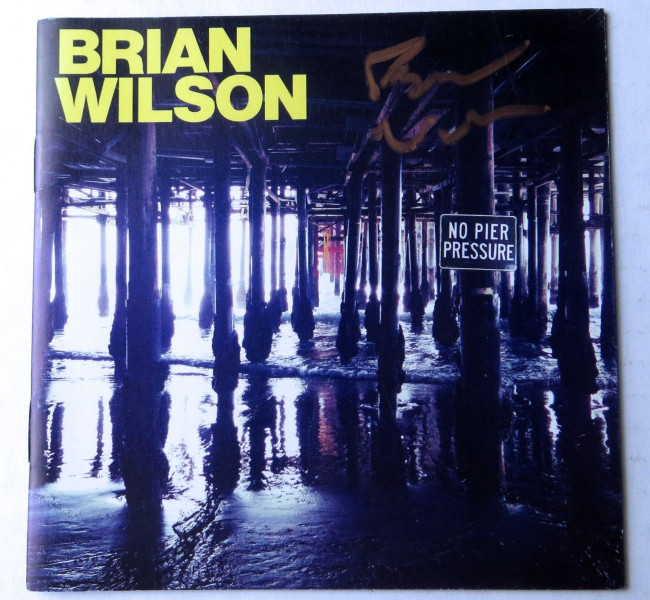 Brian Wilson Signed Autographed CD Booklet Cover No Pier Pressure JSA HH37452