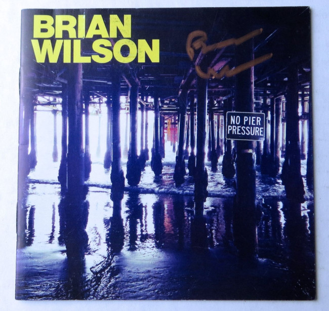 Brian Wilson Signed Autographed CD Booklet Cover No Pier Pressure JSA HH37453