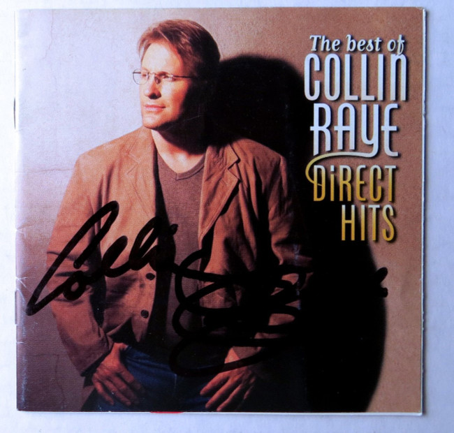 Collin Raye Signed Autographed CD Booklet Cover Direct Hits JSA HH37446