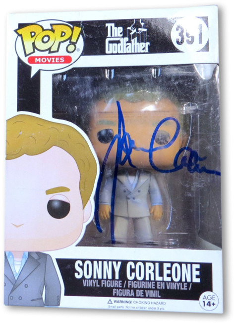James Caan Signed Autographed Funko POP! Figure The Godfather Sonny GV907540