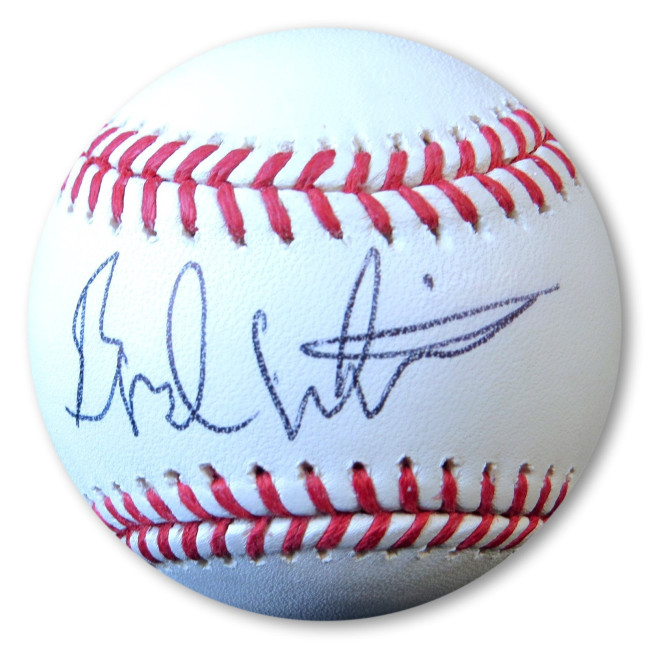 Brad Whitford Signed Autographed Official MLB Baseball Aerosmith JSA HH36335