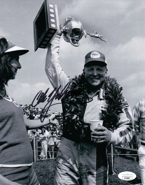 Cale Yarborough Signed Autographed 8X10 Photo Nascar Racing Legend JSA II25881