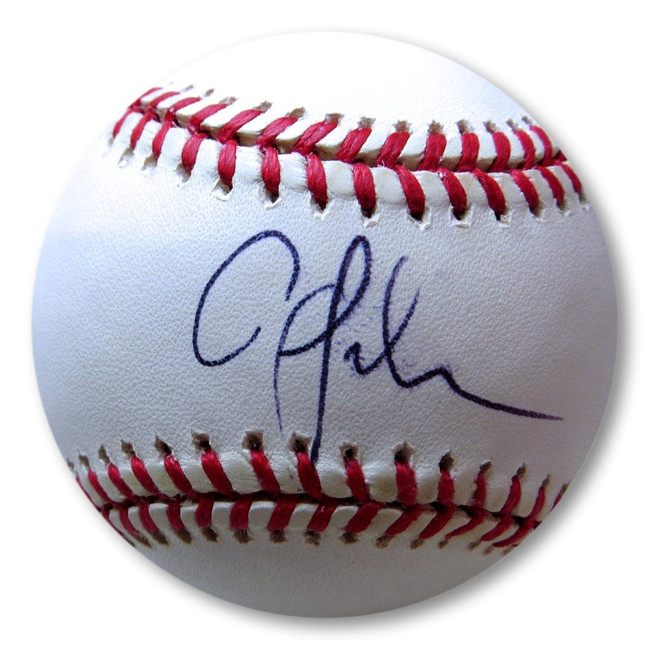 Aaron Sele Signed Autographed AL Baseball Red Sox Angels JSA II24992