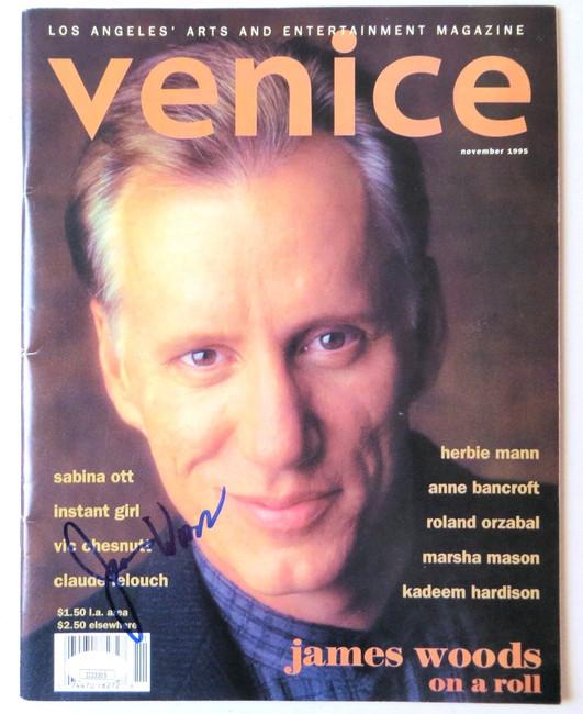 James Woods Signed Autographed Venice Magazine November 1995 JSA II23305