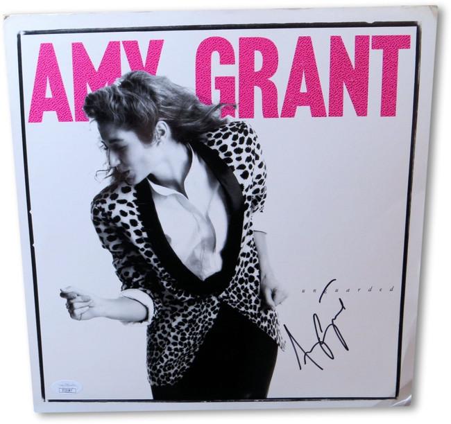 Amy Grant Signed Autographed Promo Flat Photo Unguarded JSA II23287