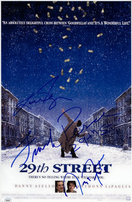 29th Steet Signed Autographed 11X17 Photo Forester Pesce Kazan JSA II60763