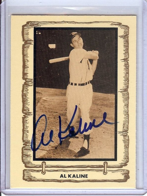 Al Kaline 1980 Pacific Legends Signed Autograph JSA II5642 Tigers HOFer #65