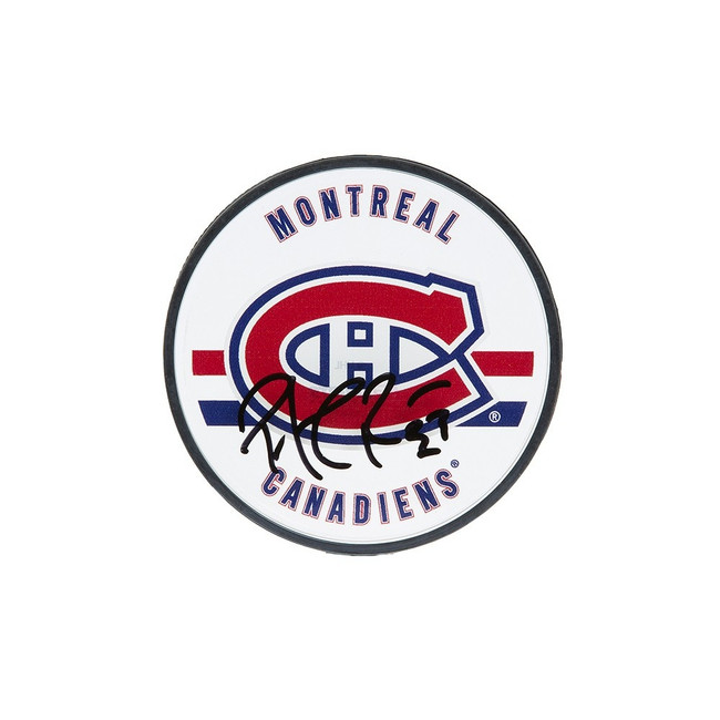 Patrick Roy Autographed Acrylic Puck Montreal Canadiens Upper Deck UDA