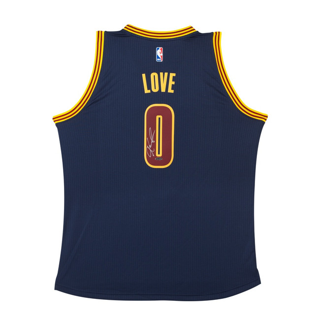 Kevin Love Signed Autographed Swingman Jersey Blue Alt. Cleveland Cavaliers UDA