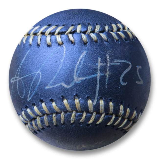 Austin Rivers Autographed Black Baseball Clippers Screw the Warriors JSA W893931