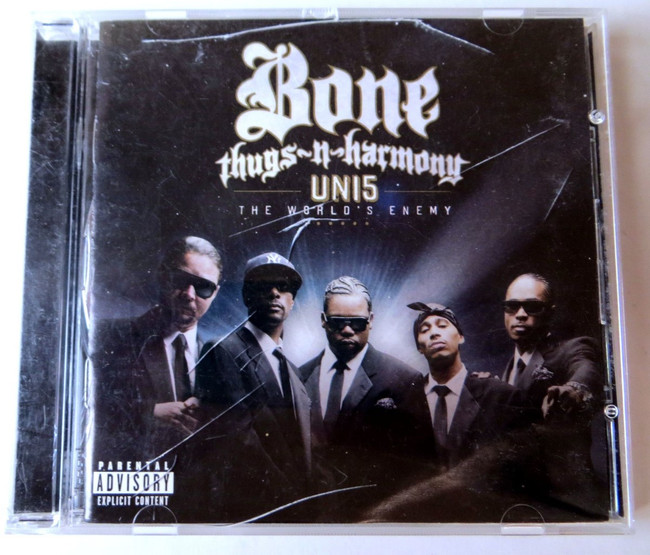 Bone Thugs N Harmony Band Signed Autographed CD Booklet UN15 JSA JJ82086