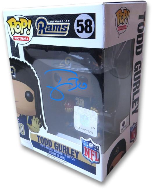 Todd Gurley Signed Autographed Funko Pop! Figure LA Rams GV917155