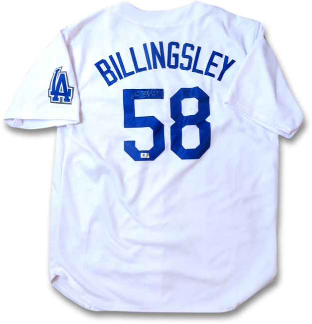 Chad Billingsley Signed Autographed Jersey LA Dodgers Home White GV917090