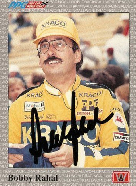 Bobby Rahal 1991 All World Indy Signed Card Auto