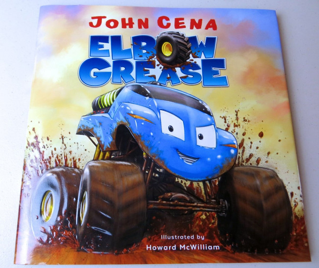 John Cena Signed Autographed Children's Book Elbow Grease WWE GV917283
