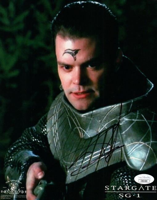 Aaron Douglas Signed Autographed 8x10 Photo Stargate SG1 JSA JJ82100