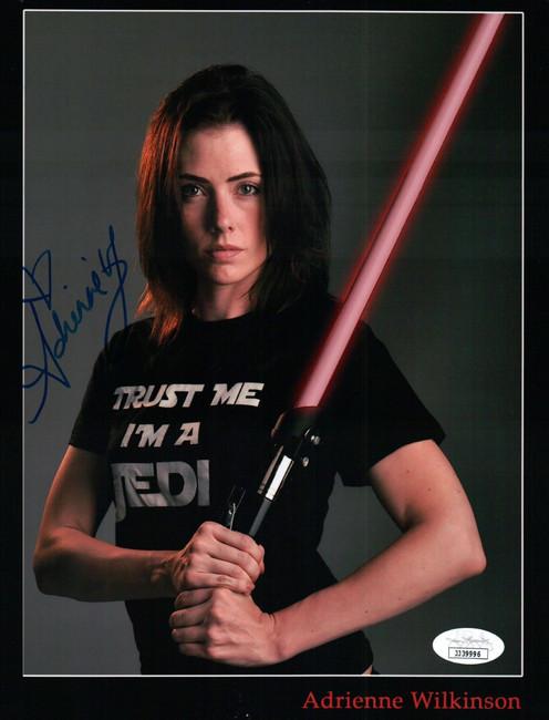 Adrienne Wilkinson Signed Autograph 8X10 Photo Star Wars Maris Brood JSA JJ39996