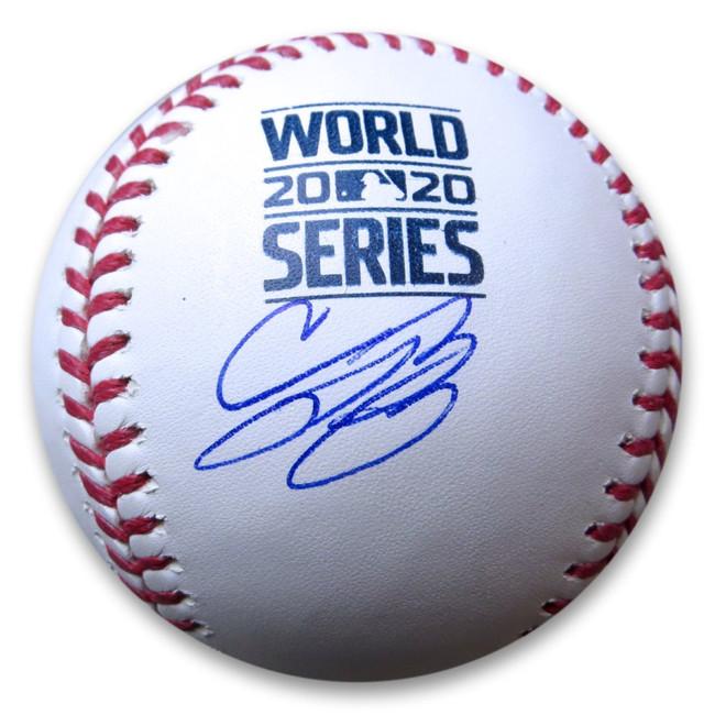 Cody Bellinger Signed Autographed 2020 World Series Baseball LA Dodgers MLB