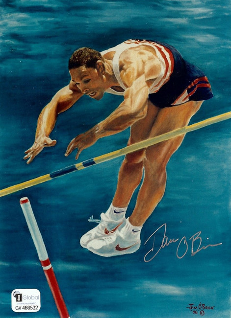 Dan O'Brien Signed Autographed 5X7 Photo Track and Field Legend GV466532