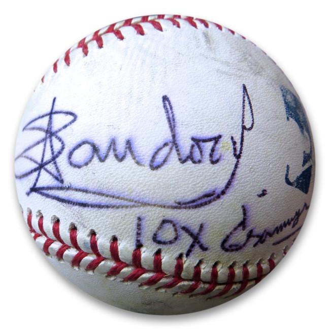 Arturo Sandoval Signed Autographed MLB Baseball 10X Grammy Awards GX31443