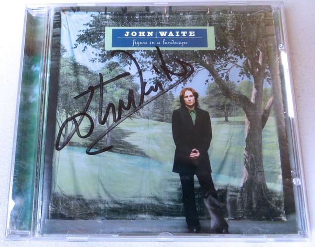 John Waite Signed Autographed CD Booklet Figure in a Landscape JSA KK94212