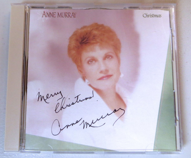 Anne Murray Signed Autographed CD Booklet Merry Christmas Singer JSA KK94209