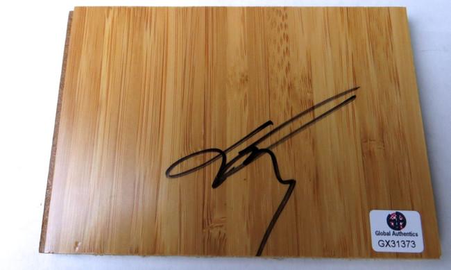 Jason Terry Signed Autographed Floor Piece Hawks Mavericks GX31373