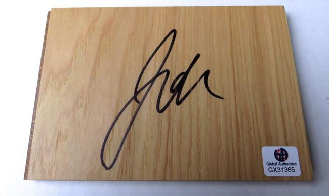 Jahlil Okafor Signed Autographed Floor Piece Detroit Pistons GX31365
