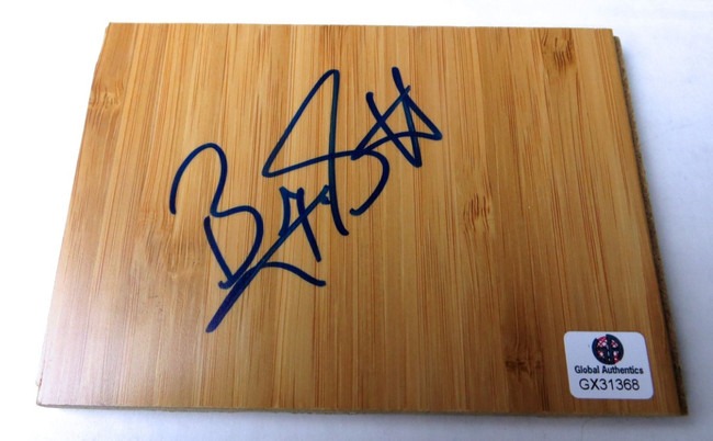 Byron Scott Signed Autographed Floor Piece Los Angeles Lakers GX31368