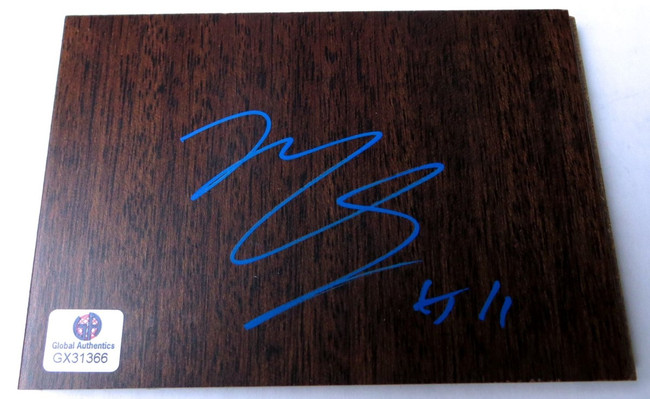 Mike Conley Jr. Signed Autographed Floor Piece Grizzlies Jazz GX31366