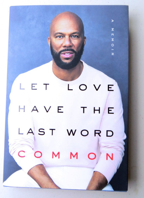 Common Signed Autographed Hardcover Book Let Love Have the Last Word JSA LL80049