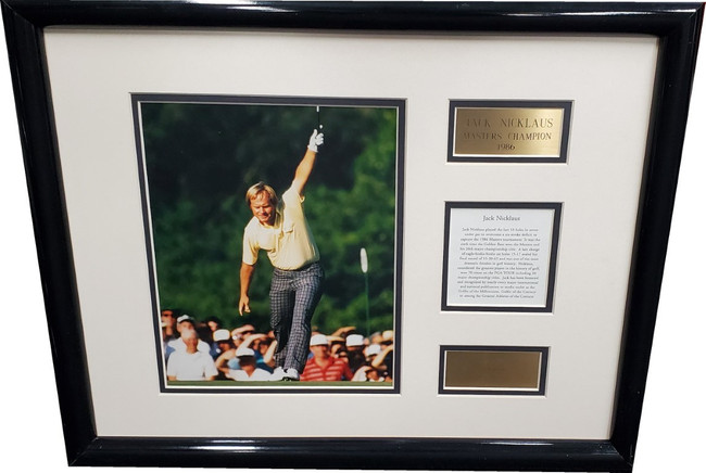 Jack Nicklaus UnSigned 8x10 Photo Custom Framed to a 16x20 Frame
