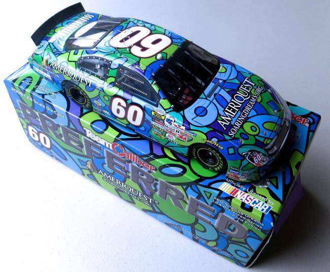Carl Edwards Signed Autograph Diecast Car NASCAR 1:24 AmeriQuest #60 JSA LL62713