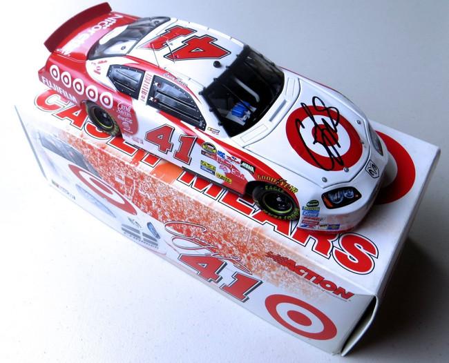 Casey Mears Signed Autographed Diecast Car NASCAR 1:24 Target #41 JSA LL62704