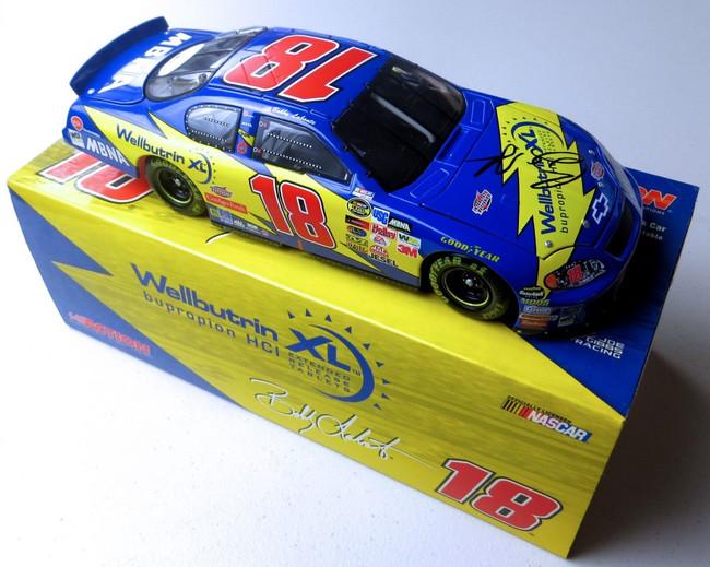 Bobby Labonte Signed Autographed Diecast Car NASCAR 1:24 #18 JSA LL88157