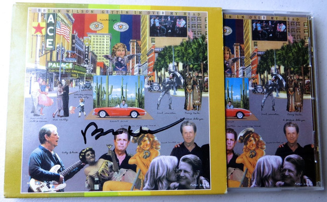 Brian Wilson Signed Autographed CD Cover Beach Boys JSA MM09051