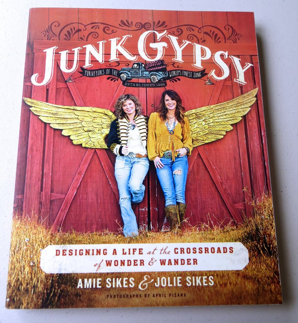 Amie & Jolie Sikes Signed Autographed Book Junk Gypsy w/COA