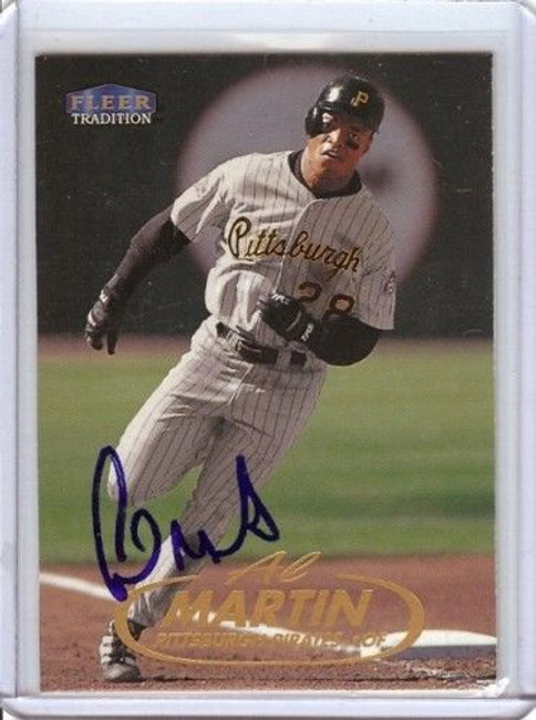 Al Martin 1998 Fleer Tradition Card Auto Autograph