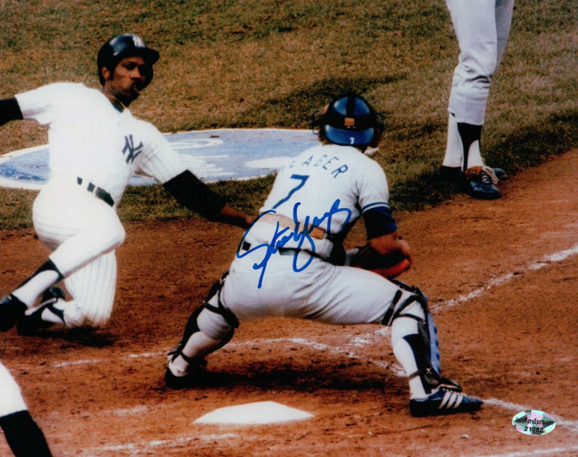 Steve Yeager Signed Auto 8X10 Photo Dodgers World Series Steve Howe Celebrate