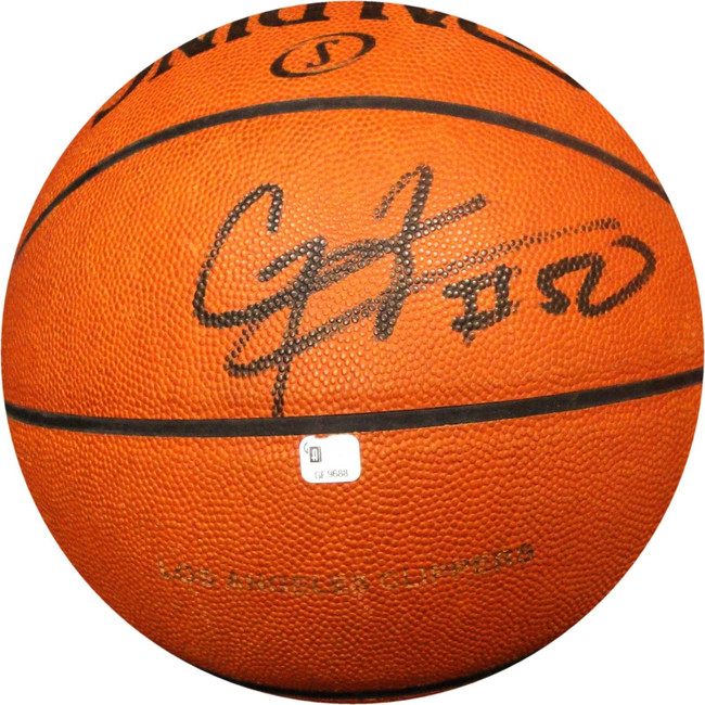 Corey Maggette Autographed Official Basketball Los Angeles Clippers GF9688