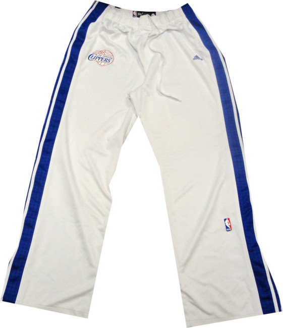 Darius Miles Los Angeles Clippers GAME USED Basketball Warm Up Pants Size 3XLT